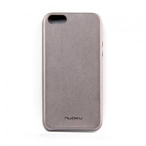 Кожаная накладка Nuoku для iPhone 5/5s