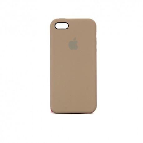 Оригинальный чехол для iPhone 5 коричневый