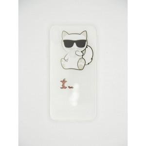 Чехол на iPhone Xr силиконовый Karl Lagerfeld