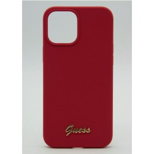 Чехол Guess для iPhone 12 Pro Max Soft-touch