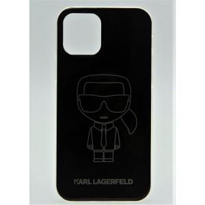 Чехол для iPhone 12 Pro Max Karl Lagerfeld с принтом