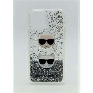 Чехол для iPhone 12/12 Pro Karl Lagerfeld переливашка